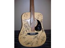 Guitar signed by Country Music stars Martina McBride, Lonestar, Montgomery Gentry and more