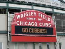 Chicago Cubs - Four Field Box Tickets plus Photos on the Field
