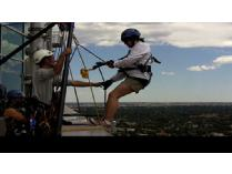 Rappel Down A Denver Skyscraper