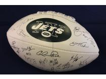 2011 New York Jets Team Signed Football