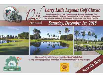 12th Annual Larry Little Legends Golf Classic Package 4 Golfers