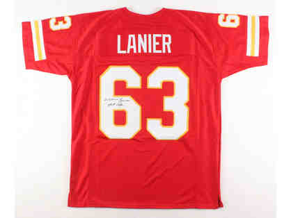 Willie Lanier Kansas City Chiefs Signed Jersey