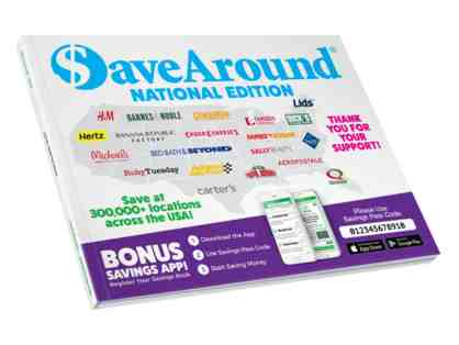 $aveAround 2020 National Coupon Book
