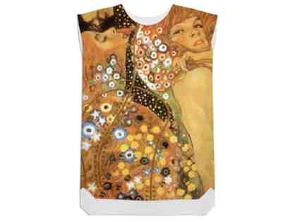 """WATER SERPENTS"" by Gustav Klimt: Silky! Versatile! Shift Dress: A ""MUST POSSESS!"""