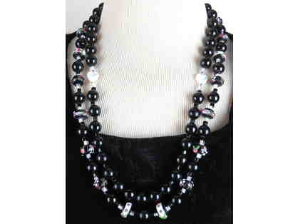 Absolutely EXQUISITE GEMSTONE NECKLACE #385