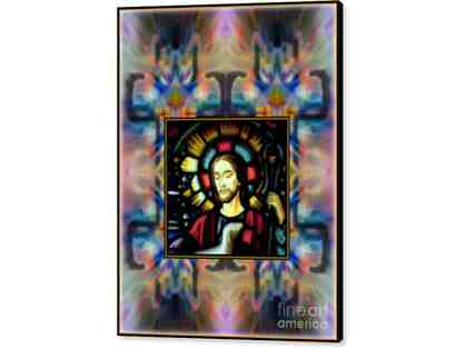 "0-376: ""Good Shepherd"" by WBK: LARGE CANVAS: 22.875""x30.00"" or small print!"