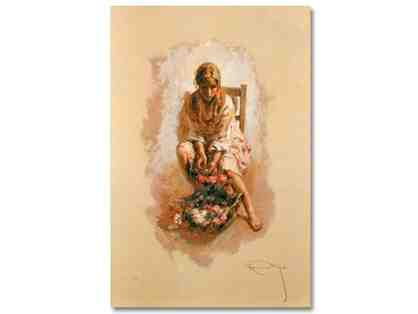 "0-INV: ""Reposo"" by Royo!! EXTREMELY COLLECTIBLE!!"