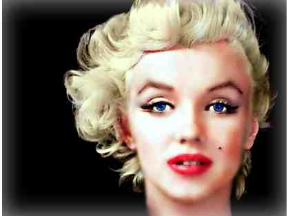 "027: ""Marilyn"" by WBK: Limited Edition, Museum Quality Print: 30""x22.75""!"