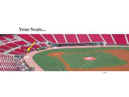 Cincinnati Reds Tickets - Exclusive Diamond Club Experience with Two VIP tickets