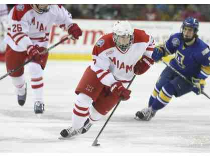 Miami Redhawks Hockey - tickets, hotel and dinner