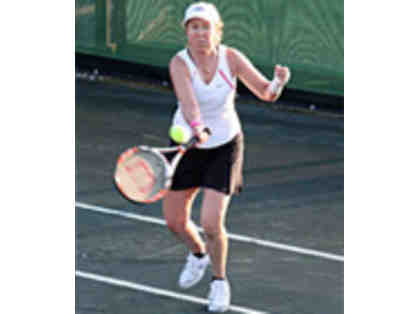 """Tennis Afternoon for FOUR with Debbie Croft"