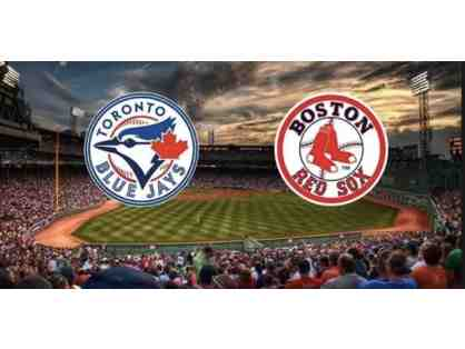 1 Pair of Red Sox vs. Blue Jays Tickets (7/15 @ Fenway)