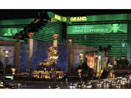 3 Nights @ MGM Grand in Las Vegas + 2 David Copperfield Tickets