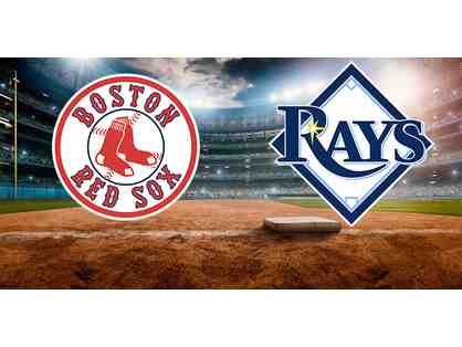 1 Pair of Red Sox vs. Rays Tickets (8/1 @ Fenway)