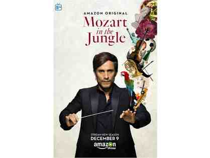 EXCLUSIVE On-set Experience with Mozart in the Jungle
