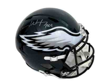 Carson Wentz Eagles Signed Full Size Super Bowl Speed Helmet Fanatics