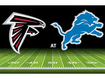 3- Detroit Lions Tickets September 24th vs Atlanta Falcons Lower Level Sideline