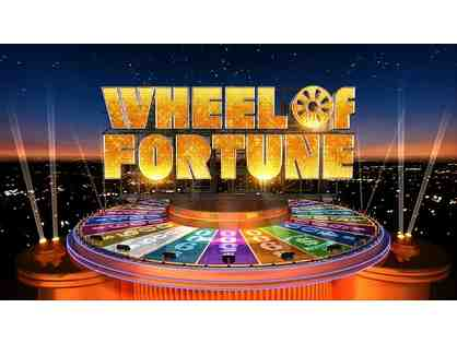 4 Wheel of Fortune VIP Passes & Prize Package