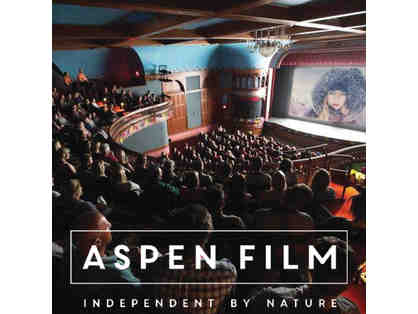 Aspen Film Director Level Membership + 10 tickets to any of 3 festivals