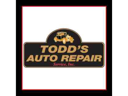 A Year's Worth of Oil Changes at Todd's Auto Repair
