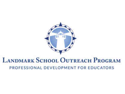 2 Day Teacher Professional Development Workshop at Landmark School