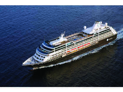 Voyage on any Azamara Club Cruise