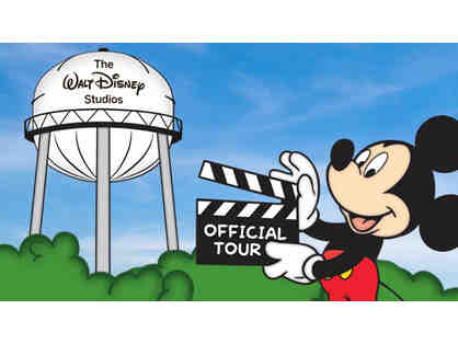 Disney VIP Package! Studio Tour for 5 people, plus $100 in Disney Merchandise!