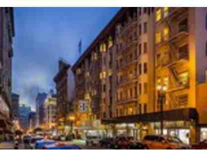 San Francisco, CA - Union Square Handlery Hotel - Overnight stay with Parking