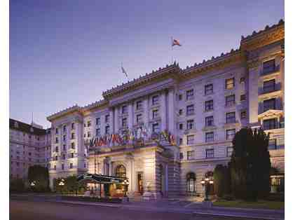 San Francisco, CA - Fairmont Hotel - 1 nt in Exterior King room with breakfast