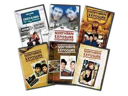 "Janine Turner Autographs ""Northern Exposure"" Complete DVD Set!"