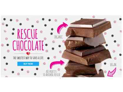 $25 Rescue Chocolates Gift Certificate