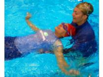 Learn-to-Swim Three Private Swimming Lessons in MA