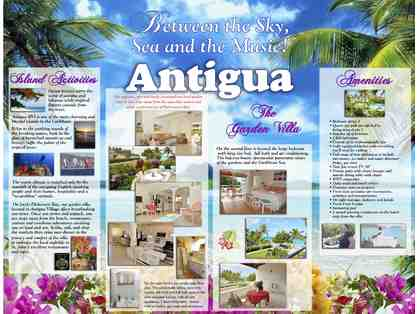 Antigua Beach - Seven Night Getaway for 2