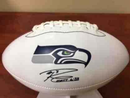 Limited Edition Russell Wilson #3 Seahawks Football