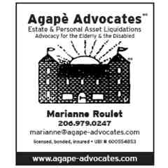Sponsor: Agape Advocates: Estate and Personal Asset Liquidation