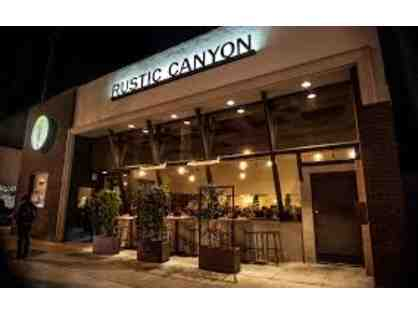 Rustic Canyon Wine Bar and Seasonal Kitchen - $100 Gift Card