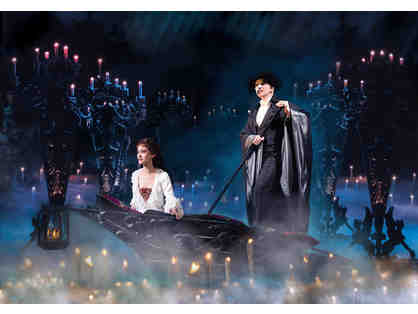 2 Tickets to THE PHANTOM OF THE OPERA