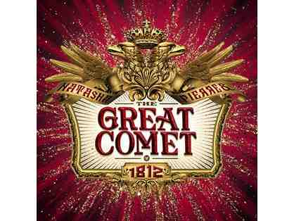 Tickets to GREAT COMET on BROADWAY and Backstage Tour with Actor Paul Pinto