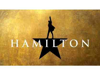 $100 (5 Raffle Tickets) - Win Two House Seats to Hamilton & Backstage tour!