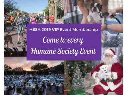 Be a VIP at Every HSSA Event in 2019! HSSA VIP Event Membership