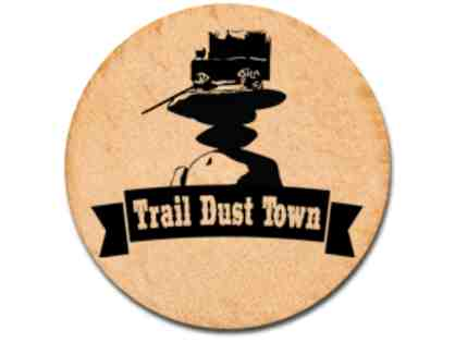 Trail Dust Town Family Day Out with $50 Gift Card to Pinnacle Peak Steakhouse or El Corral