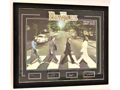 The Beatles 'Abbey Road' Framed Memorabilia