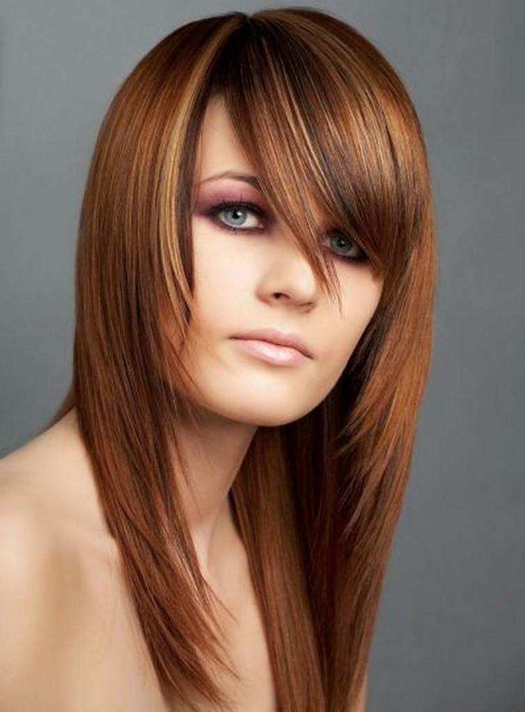 Модные молодежные стрижки на длинные волосы