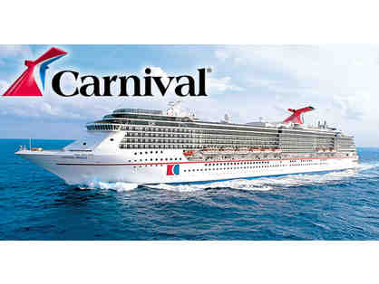 Carnival Cruise for 2 - You Pick the Ocean!