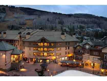 1 week in adorable mountain village at the Park Plaza in Beaver Creek, CO