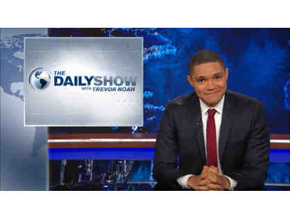 2 VIP Tickets to THE DAILY SHOW WITH TREVOR NOAH