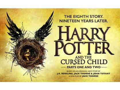 2 house seats to HARRY POTTER AND THE CURSED CHILD Parts 1 and 2
