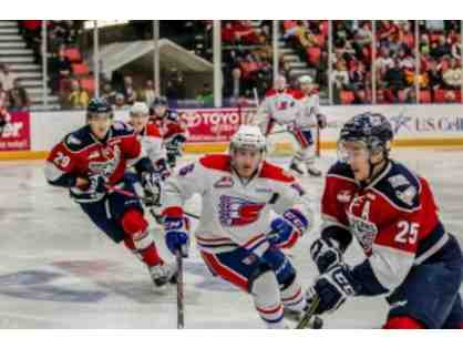 Americans: Suite for 10 VS. Spokane Chiefs March 17,2018, $200 Dining Certificate