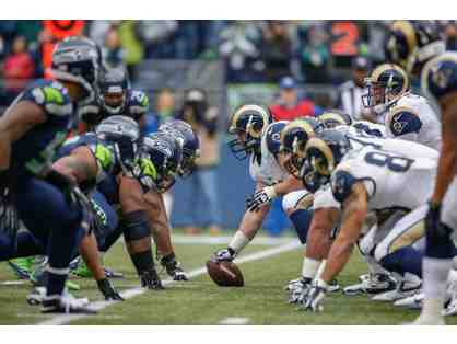 A Pair (2) Tickets to the Dec. 17th Seahawks Game vs. LA Rams