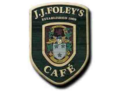 $150 Gift Certificate to JJ Foley's!